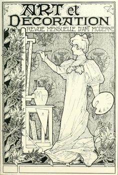 Illustration for art et decoration by ars ne herbinier - Art et decoration abonnement ...