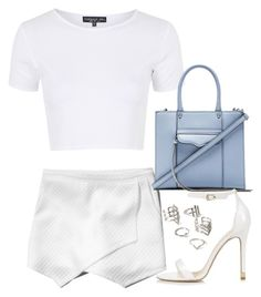 """""""Untitled #4446"""" by eleanorsclosettt ❤ liked on Polyvore featuring Abercrombie & Fitch, Topshop, Rebecca Minkoff and Forever 21"""