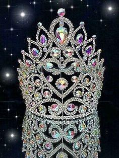 Pageant Crowns, Tiaras And Crowns, Crystal Headband, Crystal Crown, Crown For Women, Queens Tiaras, Bride Hair Accessories, Bridal Tiara, Bridal Crown
