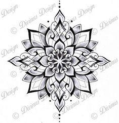 Tribal Geometric Mandala Tattoo Design And Stencil Instant Etsy In 2020 Geometric Mandala Tattoo Geometric Mandala Mandala Tattoo Design