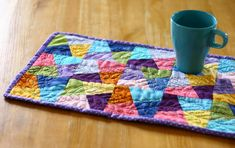 Picnic Blanket, Outdoor Blanket, Patchwork Designs, Pot Holders, Patches, Quilts, Make It Yourself, Sewing, Blog