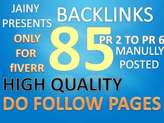 do blog comments 85 backlinks by seo_jainy