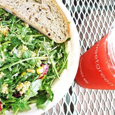 We love the delicious & healthy salads from Sweet Green!