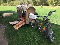 Aaron's 'Nomadic Shepherds.org' camper.