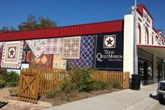 The Texas Quilt Museum features great quilt art, both traditional and contemporary, from all over the world...and for visitors from all over the world. It is located in La Grange, Texas. www.texasquiltmuseum.org