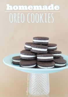 Logan has an oreo addiction and it grosses me out. Determined to find a home made option.