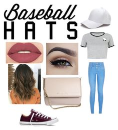 """""""Baseball Hats"""" by gabriellepreudhomme ❤ liked on Polyvore featuring New Look, WithChic, Converse, Smashbox, Givenchy, baseballcap and baseballhats"""
