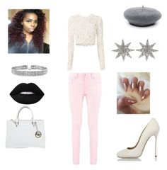 """Untitled #127"" by tytiana-ransom on Polyvore featuring Boohoo, A.L.C., Michael Kors, Dsquared2, Bling Jewelry and Bee Goddess"