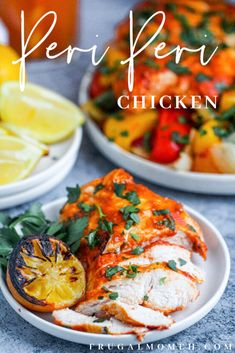 Quick & Easy Peri Peri Chicken Breasts - Frugal Mom Eh! Roasted Onions, Roasted Vegetables, Chicken Tortilla Bake, Peri Peri Chicken, Sweet Bell Peppers, Midweek Meals, Portuguese Recipes, Chicken Breasts, Food Hacks