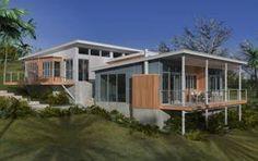 Nusteel Home Designs: Barcelona. Shed Homes, Kit Homes, Home Design, Interior Design, Beach House Plans, Barcelona, Steel House, New Home Builders, Australian Homes