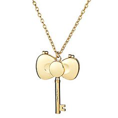 Daily Pinspiration 06/20/2012: Fave Bow Pic: Hello Kitty - Gold Bow Mirror Necklace #SephoraHelloKitty