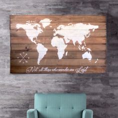 A personal favorite from my Etsy shop https://www.etsy.com/ca/listing/290168311/wood-world-map-wall-art-large-wall-art