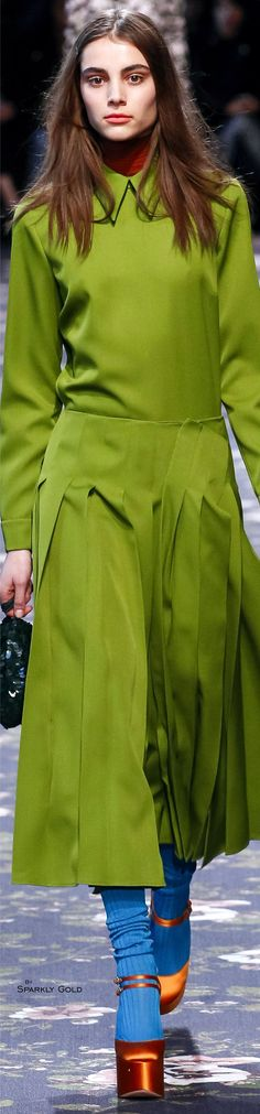 Rochas Fall 2016 RTW women fashion outfit clothing style apparel @roressclothes closet ideas
