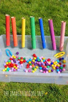 Okulöncesi Sanat ve Fen Etkinlikleri: PonPonlarla Oynuyoruz :)