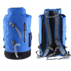 3 Colors 20L Large Waterproof Floating Dry Bag Backpack Drift Sports Hiking Camping high quality Outdoor Kits Equipment