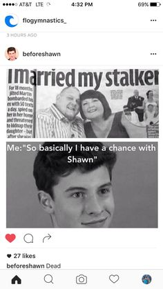 I like how the picture of the one with Nash has been floating around for like forever and now there's a Shawn one Shawn Mendes Cute, Shawn Mendes Memes, Shawn Mendes Imagines, Funny Memes, Hilarious, Jokes, Shawn Mendas, Mendes Army, Chon Mendes