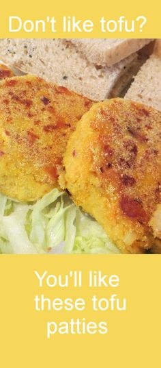 Easy Tofu Patties recipe. Recipe makes enough for 5 - 6 people. For many more budget recipes see:http://www.cheap-and-easy-recipes.com