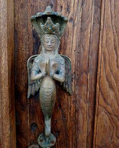 Door knocker in Lanzarote