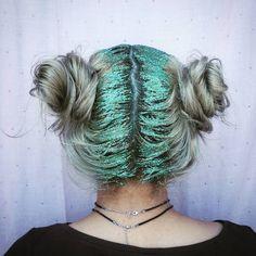 """#DIY #glitter_roots"
