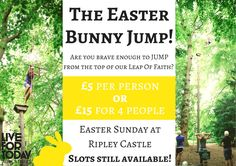 Come and join us this easter Sunday for our Bunny Jump :)