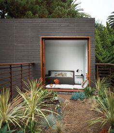 beautiful garden deck.