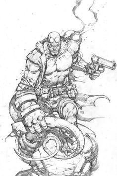 Todo mejora...y me tatúo este...Hellboy Rox!