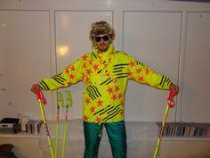 Retro Ski Man ELHO