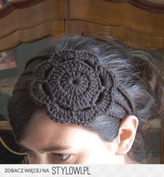 creativeyarn: Headband with Flower