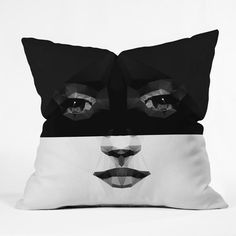 My design inspiration: Luna Outdoor Pillow on Fab.