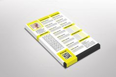 Yellop Resume Template by Dueza.Com on @creativemarket
