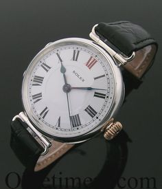 A rare early round silver vintage Rolex watch 1918. - Discover how you can live the online luxury lifestyle. It's easier than you think. Start Here: http://workwithpaulbrady.com  Luxury lifestyle, residual income, online marketing, make money.