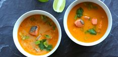 Craving a warm curry, but short on time? Our Instant Pot Keto Thai Salmon Curry is chock full of nutrients and is on the table in under 30 minutes! Thai Salmon Curry, Ketogenic Recipes, Healthy Recipes, Keto Recipes, Healthy Food, Pressure Cooker Pot Roast, Keto Salmon, Pork Belly Recipes, Organic Chicken