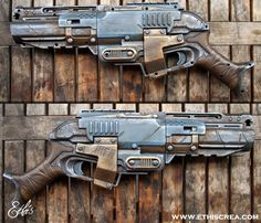 Nerf Sledgefire badass custom | Ethis Crea