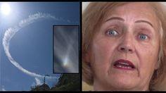 Eyewitness SHOCKED at 'Hologram Sky' in Jerusalem (R$E)CERN?? Kind Abdullah and hologram generator??