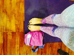 Purple lights leggings by monasita💜