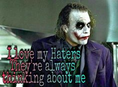 I stay on dey mind real heavy Joker Qoutes, Best Joker Quotes, Batman Quotes, Badass Quotes, Revenge Quotes, True Quotes, Motivational Quotes, Inspirational Quotes, Heath Ledger Joker Quotes