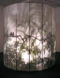 Rachel Berwick - 'May-por-e' 1997 onwards [Light Art - Light Installation - Light Painting - Light Exibithion] Interaktives Design, Light Art Installation, Art Installations, Fabric Installation, Instalation Art, Licht Box, Shadow Art, Stage Design, Light And Shadow