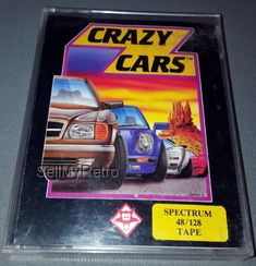 Crazy Cars: CONDITION:- Great COMPATIBILITY:- Spectrum 48/128 FORMAT:- Cassette CASE/BOX TYPE:- Double Cassette / Jewel    Quick… Cars Series, Weird Cars, Cassette, First Game, Spectrum, Computers, Electronics, This Or That Questions, Retro