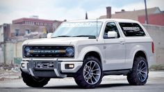 Check out the 2020 Ford Bronco rendering. #ford, #bronco #suv