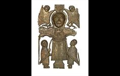 British Museum - Highlight objects: St John's Rinnagan crucifixion plaque, AD AD 700–800. © National Museum of Ireland.