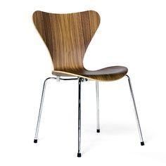 北欧家具:セブンチェア クリアラッカー / アルネ・ヤコブセン |北欧家具・雑貨のインテリア通販ショップ - morphica