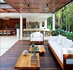 Simply stunning outdoor area.   (Image courtesy of Facebook)
