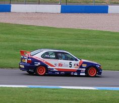 On the limit just after Craner Curves at Donington Park.