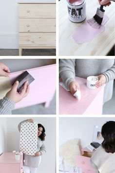 Learn how to use FAT Paint with this FAT-tabulous IKEA Hack featured on Glitter Guide!