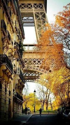 Paris in autumn is always a good idea.