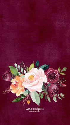 Floral ~ wallpaper/lock screen/background