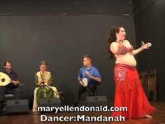 Mandanah's Arabian Passion Bellydance - YouTube