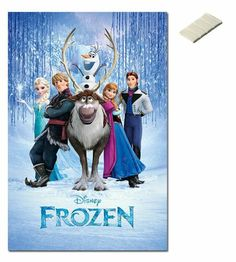 Bundle - 2 Items - Frozen Disney Movie Cast Poster - 91.5 x 61cms (36 x 24 Inches) and Small Block Of White Tack iPosters,http://www.amazon.com/dp/B00GOY90FW/ref=cm_sw_r_pi_dp_Coz2sb0JX6VKV0ME