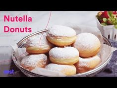 Inspired by the Eastern European-style ponchiks, these donuts are soft and pillowy, and exploding with a river of Nutella. One of the best donuts you could ever experience! Plus…VIDEO recipe included! If only I was good at writing poems… I'd write one for this donut. Wait a sec…I think I will! Squint your eyes people,...Read More »