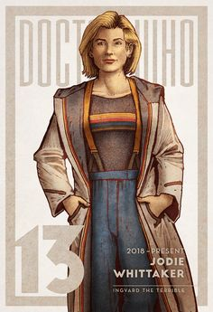 Doctor Who #13 One more Doctor to add to my series (the rest are on here somewhere…) Can't wait to see her in action!